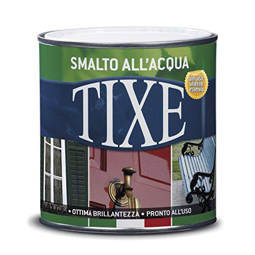 TIXE 604.1507 SMALTO VERDE MUSCHIO OPACO ALL'ACQUA, 500 ML