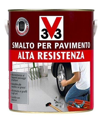Vernice per pavimenti ad alta resistenza e tenuta - colore Grigio Chiaro 500 ml