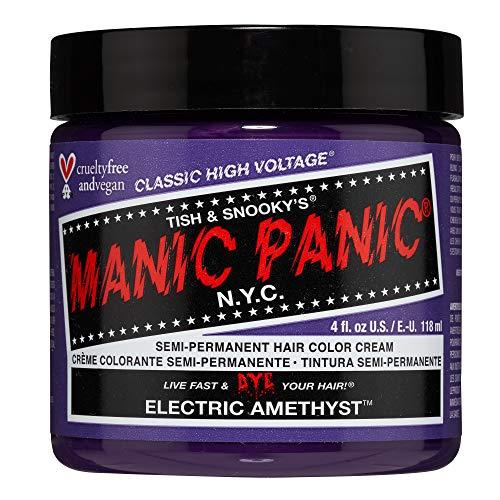 Colorante Per Capelli Formula Classic Cream High Voltage Manic Panic 118ml (Electric Amethyst)