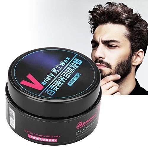 Argilla naturale, fango soffice a lunga durata per lo styling dei capelli dell'uomo, design per salone professionale e uso domestico 100 g