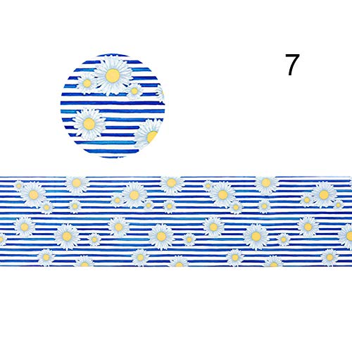 FRHUJKD Adesivo per unghie Adesivi per trasferimento di pellicole per Fiori Suggerimenti per la Decorazione di Gel Colorati Decalcomanie per trasferimento di Glitter olografici Codice Art