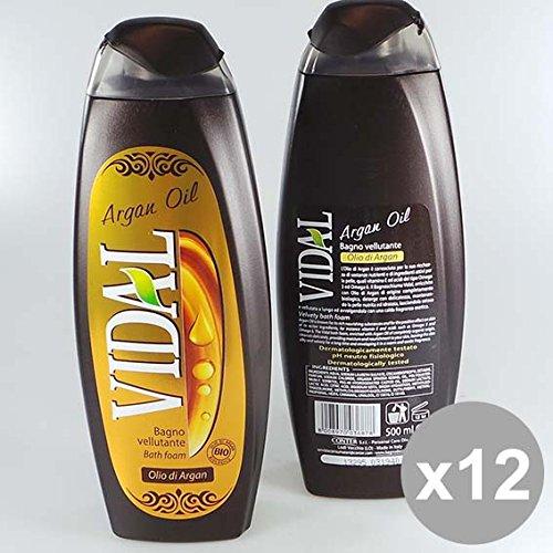 Set 12 VIDAL Bagno 500 Olio Di Argan Bagnoschiuma e saponi per il corpo