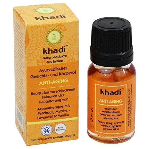 Khadi Olio Anti-Aging Viso e Corpo Rigenerante Anti Età Rassodante Tonificante Travel Size 10 ml