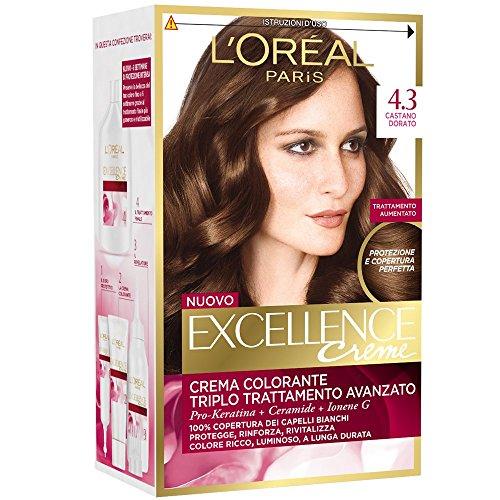 EXCELLENCE Crema Colorante Castano Dorato 4.3 40 Ml