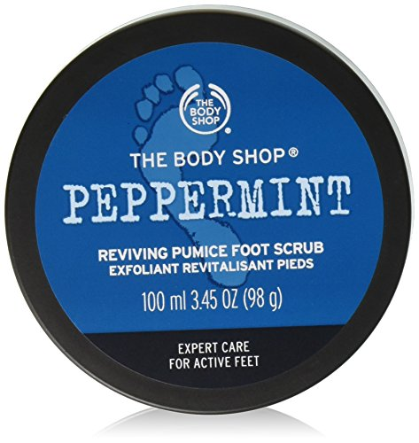 The Body Shop Peppermint Soothing Foot Scrub 100ml