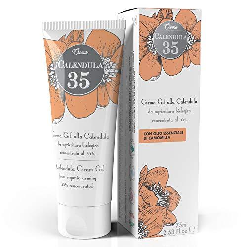Dulàc - Crema alla Calendula concentrata al 35% - 75 ml - Nutre, idrata e protegge la pelle - Adatta al cambio dei bambini - 100% Made in Italy - Calendula 35