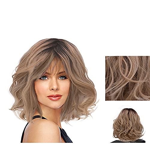 Hairdo On The Edge Parrucca Biondo Chiaro Con Radice Castana