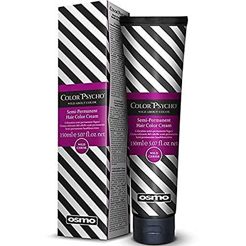 Colore Psycho Tamer semi-permanente di capelli Crema a colori, Selvaggio Cerise 150 ml