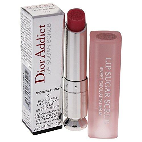Dior Addict Lip Sugar Scrub - Esfoliante Labbra Donna, 001, Universal Pink, 3.5 Millilitri