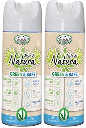 Hygien Fresh Note di Natura - Deodorante Spray Mangia Elimina Odori per Tessuti ed Ambienti Linea Green 400ml (2)