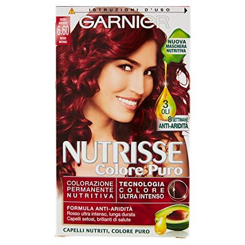 Garnier Nutrisse Colore, 6.60 Rosso Intenso