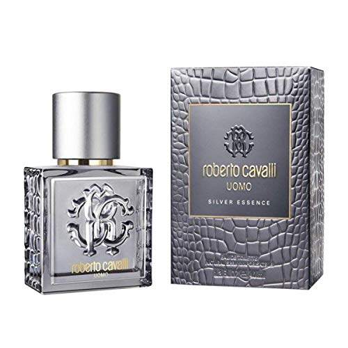 Roberto Cavalli Silver Essence, Uomo - 40 ml