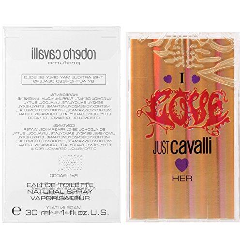 Roberto Cavalli I love just Cavalli Her Eau de Toilette Spray 30 ml