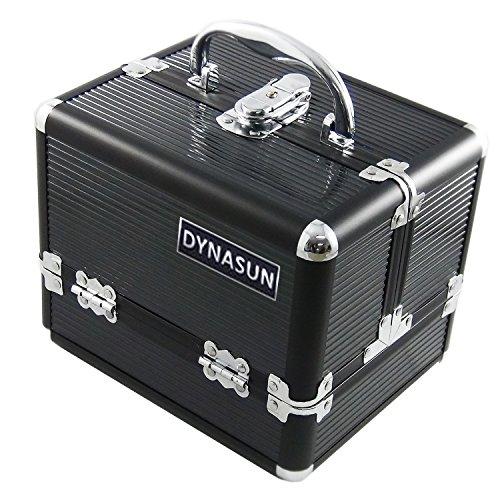 DynaSun Bs35 Beauty Case Make Up Nail Art Porta Gioie, Nero