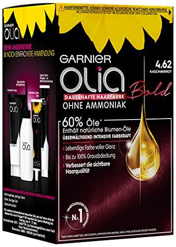 Garnier, Olia, colore per capelli/tinta per capelli, contiene 60% olio floreali per un colore intenso fino a 8 settimane, senza Ammoniaca,3x 1pezzi