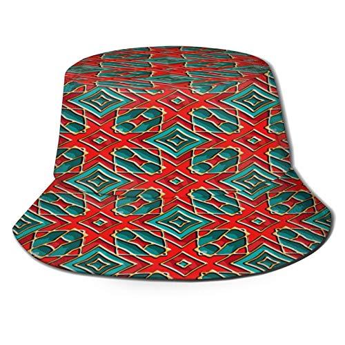 Yoliveya Cappello da Pesca,Smalto vetroso Pattern Abstract Vector Texture,per Cappello da Sole da Viaggio Canottaggio Cappello da Pesca Cappello da Pescatore