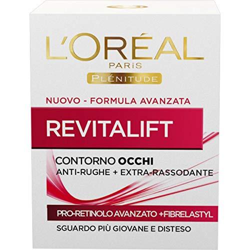 L'Oréal Paris Revitalift Contorno Occhi, Pro-Retinolo Avanzato, 15ml