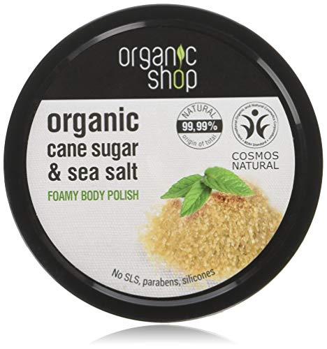 Organico Shop zucchero di canna mousse bagnoschiuma, 250ml