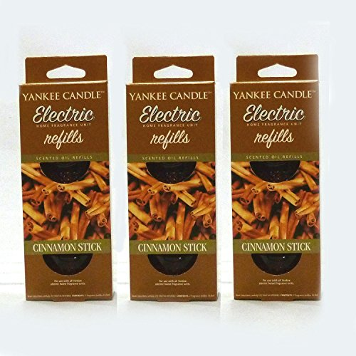 Yankee Candle - 3x Cinnamon Stick Electric Plug-In Refill Twin Pack (6 Refills In Total) by Yankee Candle