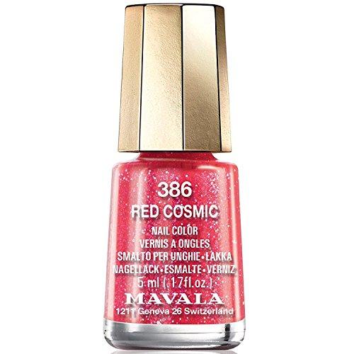 Mavala, smalto per unghie della collezione Cosmic 2017, colore rosso Red Cosmic386, 5ml