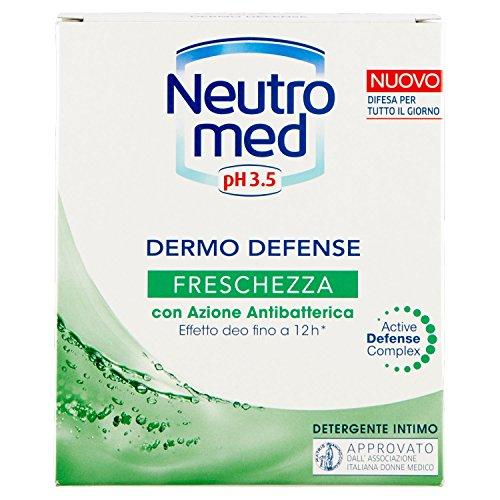 Neutromed - Detergente Intimo, Azione Antibatterica Tinfresca ed Elimina I Cattivi Odori, con 5 Ingredienti Dermo-Protettivi - 200 ml