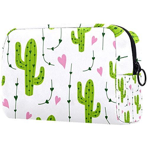 Carino Cactus Viaggio Appeso Toiletry Wash Bag Trucco Cosmetico Organizzatore per Donne Ragazze Bambini