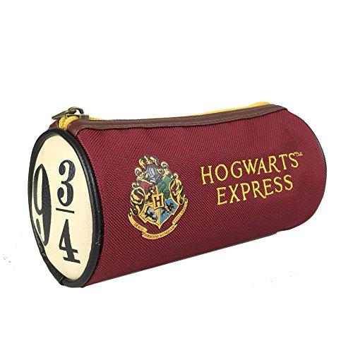 HARRY POTTER Hogwarts Express 9 3/4 Rosso, 100% Poliestere, con chiusura lampo.