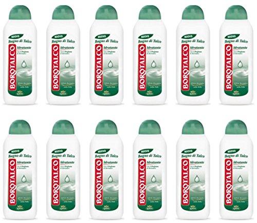 12 X Bagnoschiuma Borotalco docciaschiuma Idratante doccia bagno schiuma offerta