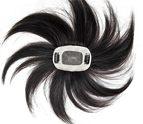 Extension a forma di corona con clip, 5 x 7,6 cm, per diradamento dei capelli (30,5 cm, marrone chiaro)