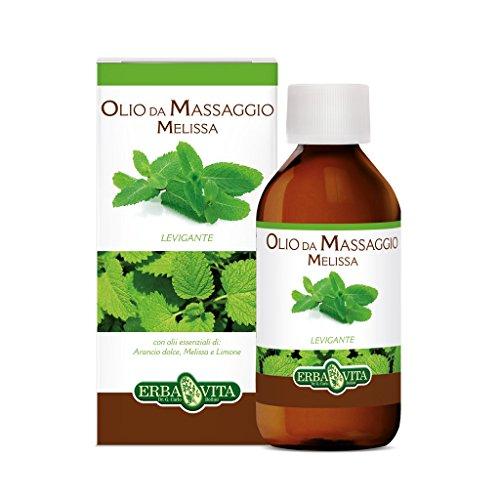 Erba Vita Olio Massaggio Melissa - Flacone da 250 ml