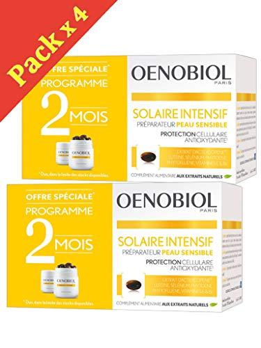Oenobiol - Solare intensivo Nutriprotection per pelli chiare–4 confezioni da 30capsule