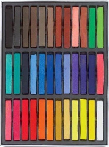 Boolavard - Kit da 36 colori per colorazione/tintura dei capelli, gessetti per colorazione temporanea