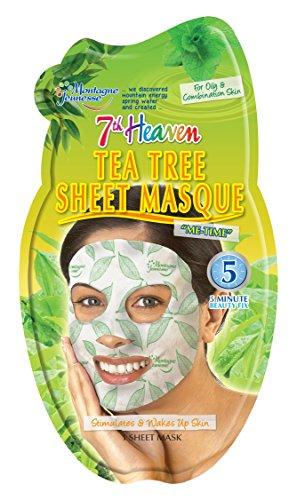 Montagne Jeunesse Maschera viso Tea Tree Oil, 1 pezzo