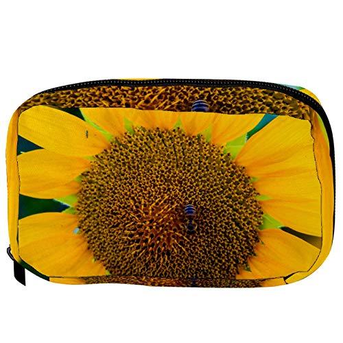 Piccola borsa cosmetica per la borsa, borsa per il trucco cosmetico Beauty Bag da viaggio Toiletry Wash Bag Matita Bag portamonete Zipper Pouch, disegnato a mano carino Koala Australia Day