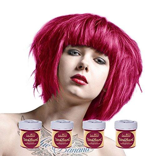 4 x La Riche Directions - Tinta per capelli semi-permanente (Tutti i Colori) 4x 88ml