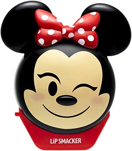 Lip Smacker - Disney Emoji Flip Balms Collection - Minnie Burrocacao per Bambini - Gusto Fragola - Dolce Regalo per i Tuoi Amici - Pezzo Singolo