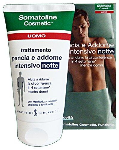 Somatoline Cosmetic Uomo Trattamento Pancia e Addome Intensivo Notte 150 ml