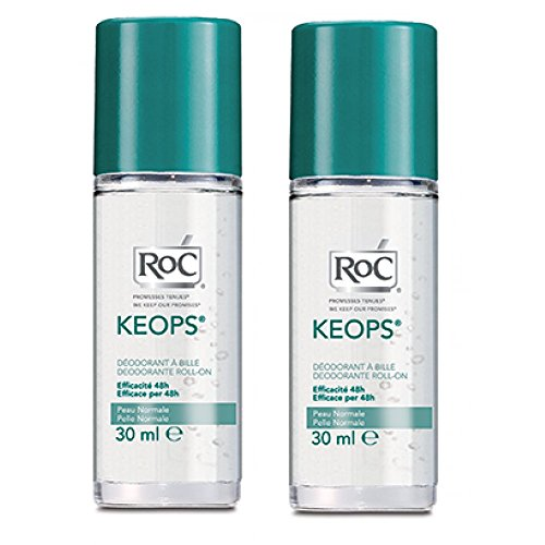 Roc Keops Bundle Deodorante Roll-On - 60 gr