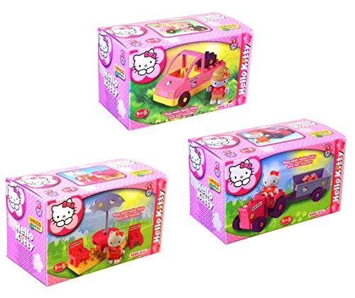 Unicoplus 8666-00HK - Display Personaggi Hello Kitty (Prodotto Assortito, Soggetto Casuale tra i 3 visibili nell'immagine)