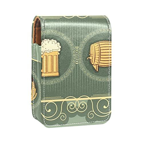 Portatile da viaggio Organizzatore di rossetti,Sfondo di birra