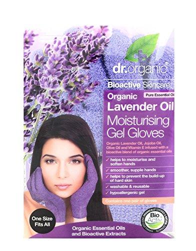 Dr. Organic Lavender Moisturising Gel Gloves - Guanti Idratanti
