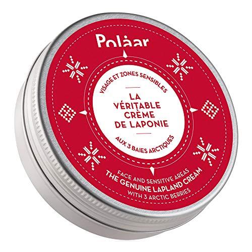 Polaar - Crema Viso e Zone Sensibili 'L'autentica Crema di Lapponia' con 3 bacche artiche - 50 ml - Trattamento Nutriente Riparatore - Pelle secca e sensibile - Attivo naturale