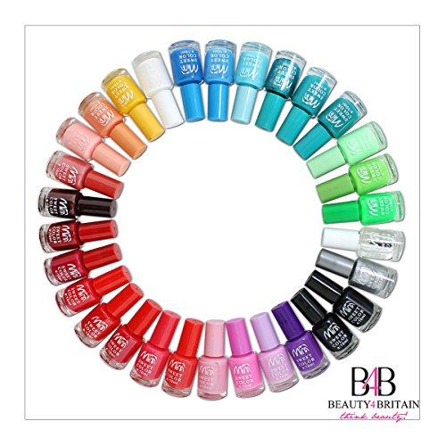 Set di 24 smalti per unghie, colori diversi e vivaci, idea regalo