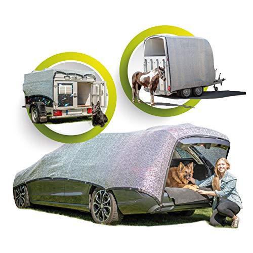 GREENSHADE® ALUMINET 2,5m x 2,5m - 6m²   85% di riflessione Premium più Alta   Protezione Solare   Protezione Solare   Protezione Termica Riduce l'accumulo di Calore