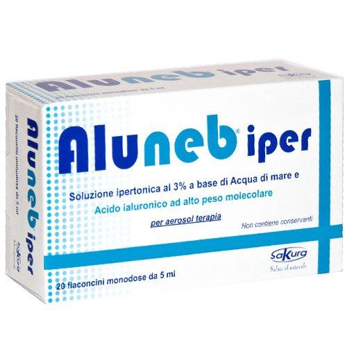 Sakura Aluneb soluzione ipertonica 5ml 20 flaconcini