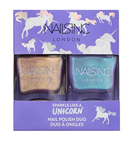 Nails Inc, Sparkle Like a Unicorn, kit di trucco da due pezzi