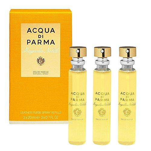 Magnolia Nobile di Acqua Di Parma - Ricarica spray da borsetta, 3 x 20 ml