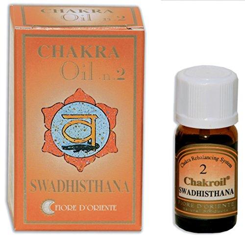 Fiore D 'oriente 2nd Chakra Swadisthana Oli Essenziali, 10ml, colore: arancione
