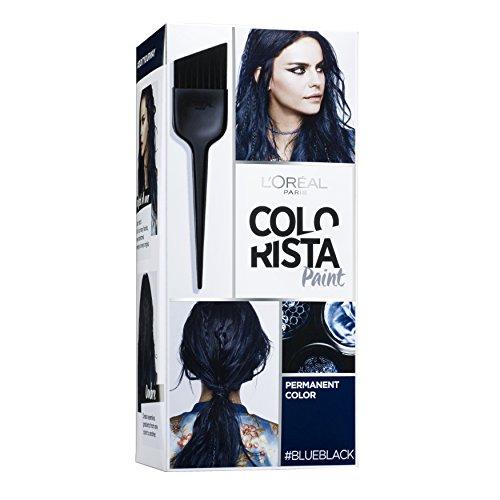 Colorista, tinta per capelli permanente, colore blu/nero