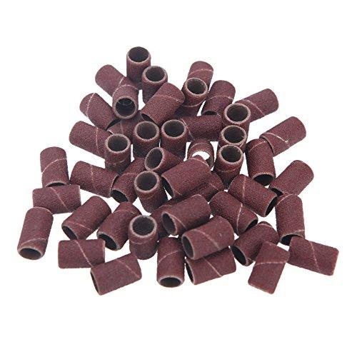 Anself 150pcs / pacchetto levigatura bande per Pedicure del manicure del trivello del unghie macchina 80 # 120 # 180 # ogni formato 50pcs